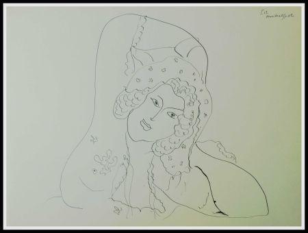 Litografia Matisse - THEMES & VARIATIONS IV