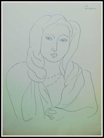 Litografia Matisse - THEMES & VARIATIONS VII