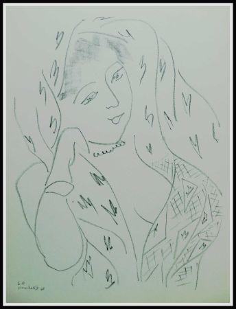 Litografia Matisse - THEMES & VARIATIONS VIII