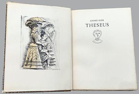Libro Illustrato Campigli - Theseus