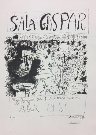 Litografia Picasso - Three Drinkers