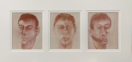 Litografia Bacon - Three studies for a portrait of John Edwards