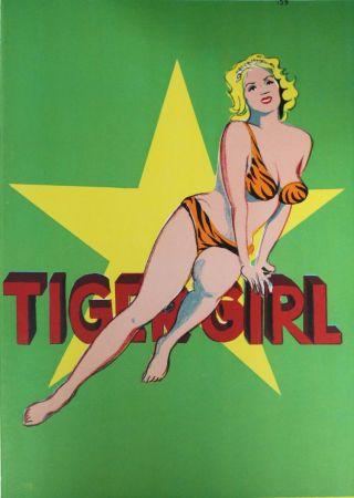 Litografia Ramos - Tiger Girl