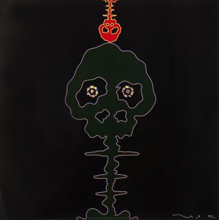 Offset Murakami - Time Bokan (black + M-moss green)