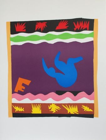 Collografia Matisse - Toboggan