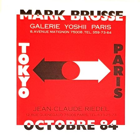 Litografia Brusse - Tokyo  Paris