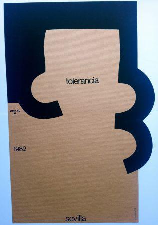 Serigrafia Chillida - Tolerancia