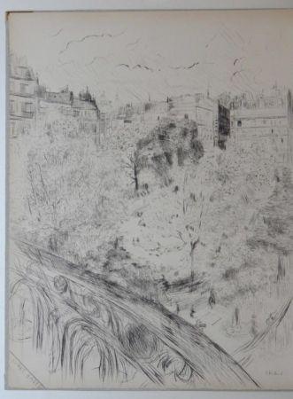 Acquaforte E Acquatinta Vuillard  - Tombeau de Edouard Vuillard