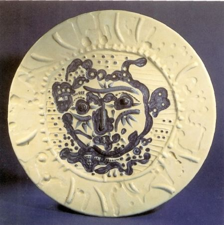 Ceramica Picasso - Tormented Faun's Face