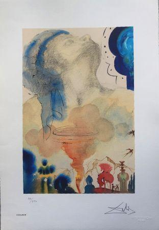 Litografia Dali - Tornado INTERGRAFICA 38X56