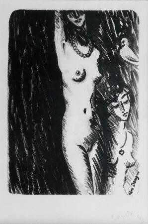Litografia Van Dongen - Torso