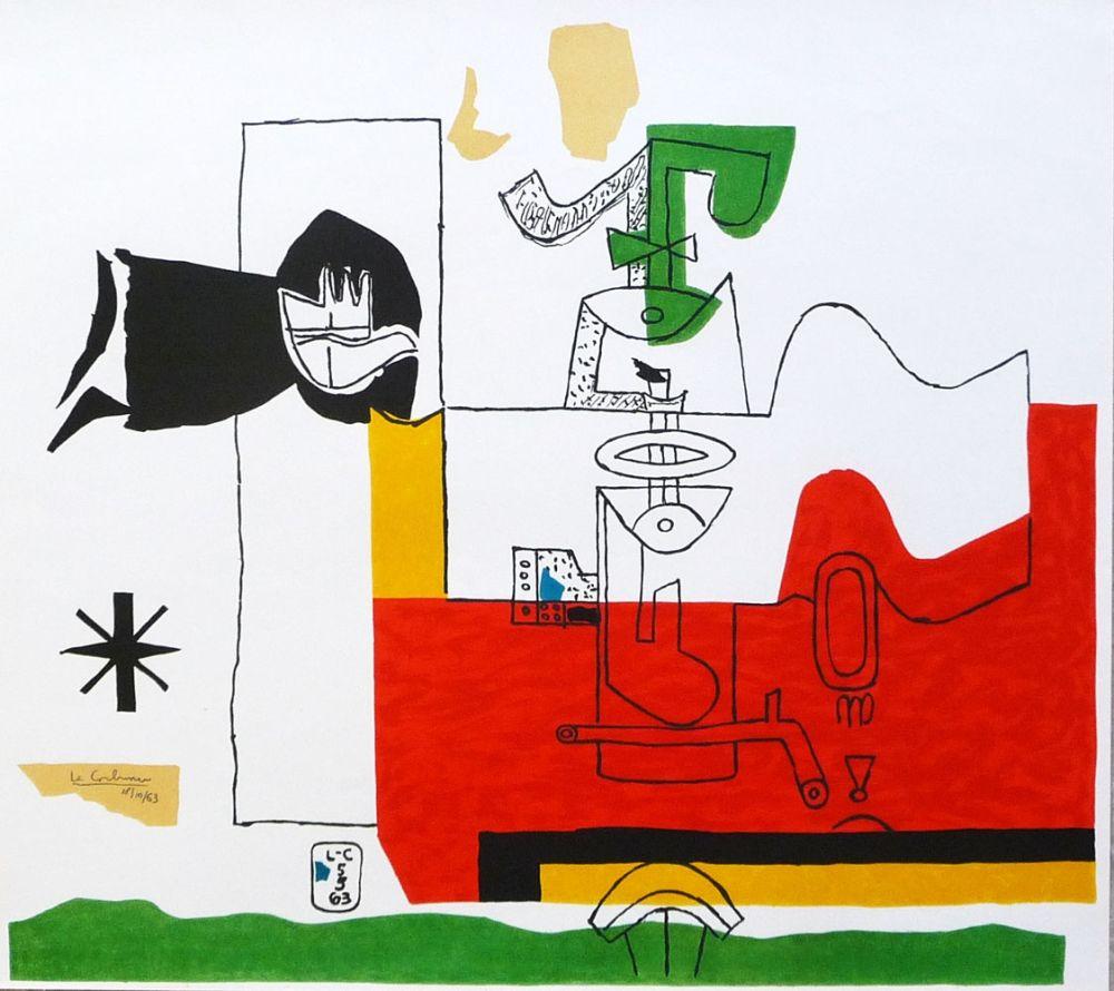 Litografia Le Corbusier - Totem