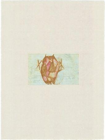 Incisione Beuys - Tränen: Schamanentrommel (grün)