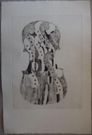 Punta Secca Arman - Traité du Violon - 10 gravures