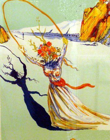 Litografia Dali - Trascendent Passage