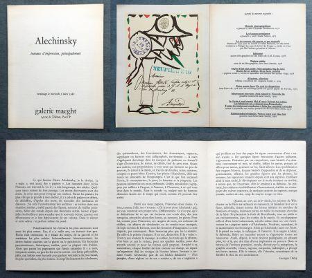 Litografia Alechinsky -
