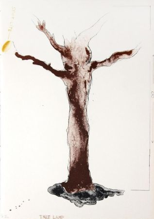 Litografia Dine - Tree Lamp