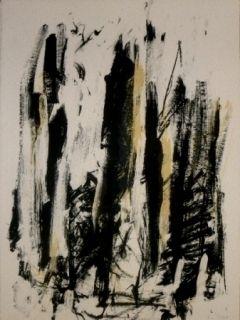 Litografia Mitchell - Trees 2