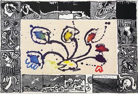 Litografia Alechinsky - Tribord