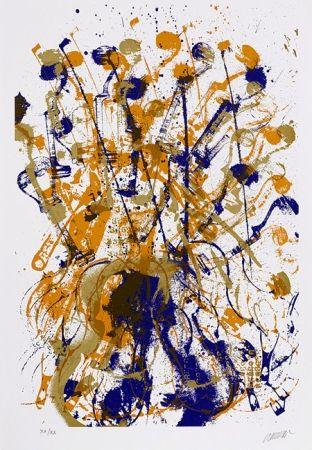 Serigrafia Arman - Trio à cordes I