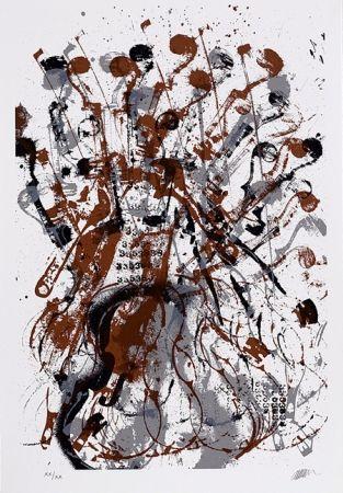 Serigrafia Arman - Trio à cordes II