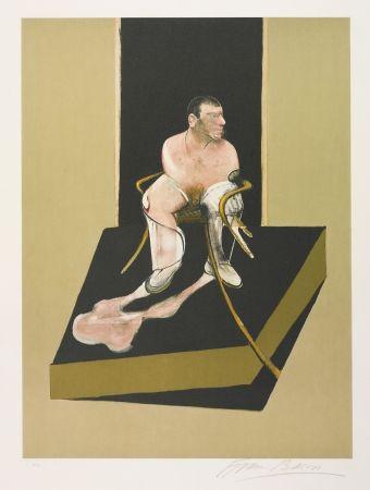 Acquaforte E Acquatinta Bacon - Triptych 1986-1987: Study for a portrait of John Edwards (S. 6)