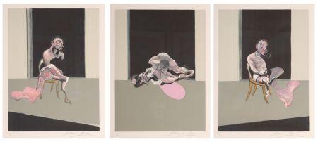 Litografia Bacon - Triptych August 1972