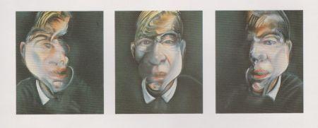 Litografia Bacon - Trois Études Pour Un Autoportrait