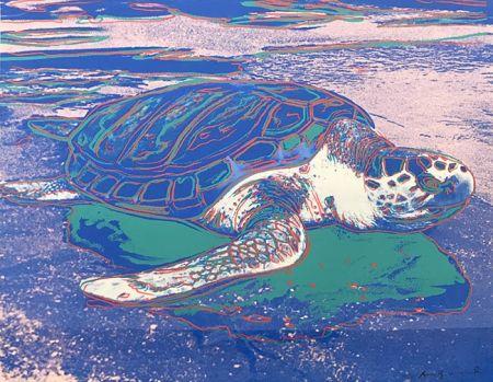 Serigrafia Warhol - TURTLE FS II.360A