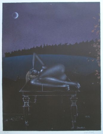 Litografia Wunderlich - Twilight 7
