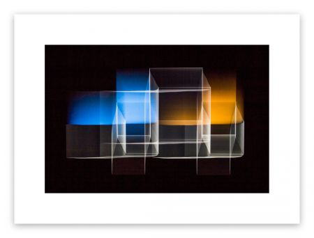 Fotografie De Haan - Two bridged squares 1
