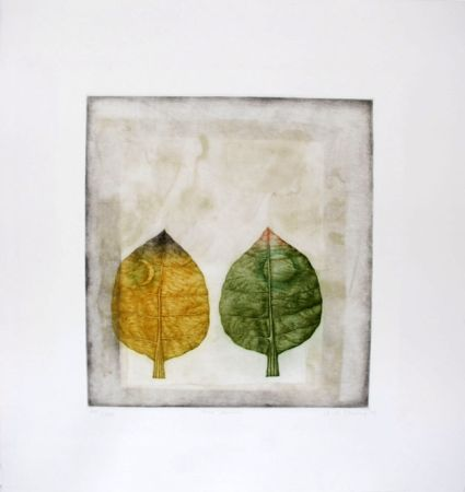 Maniera Nera Hwang - Two leaves