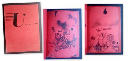 Libro Illustrato Tàpies - U no es Ningú - Brossa -Tàpies