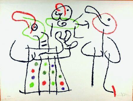 Litografia Miró - Ubu aux Baléares