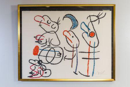 Litografia Miró - Ubu Aux Baleares
