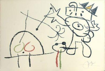Litografia Miró - Ubu aux Baleares, 17