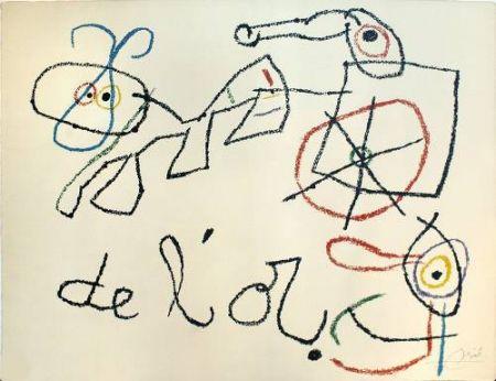 Litografia Miró - Ubu aux Baleares, 4