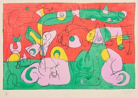 Litografia Miró - Ubu Roi