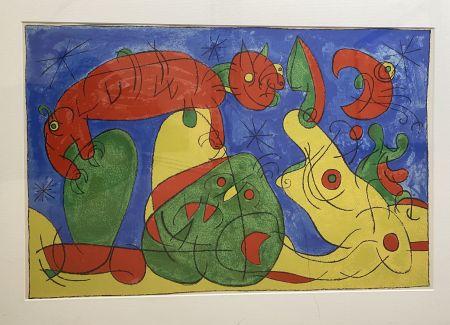 Litografia Miró - UBU Roi (plate 11)