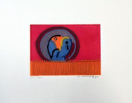 Acquaforte Ortega - Uccelli