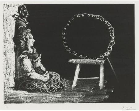 Acquatinta Picasso - Un couple d'amateurs