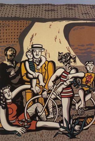 Serigrafia Equipo Cronica - Un día en el campo (carpeta Conmpositions)