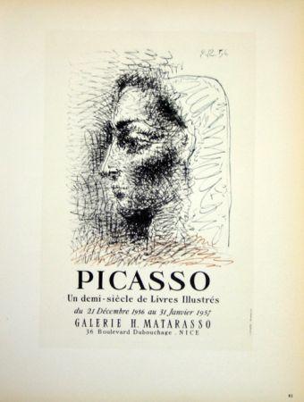 Litografia Picasso (After) - Un Demi Siecles de Livres Illustrés