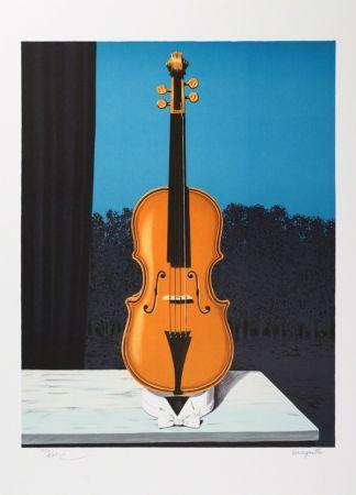 Litografia Magritte - Un peu de l'âme des bandits