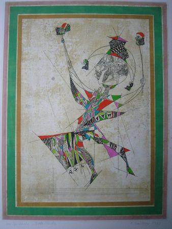 Acquaforte E Acquatinta Finsterer - Un Spectacle