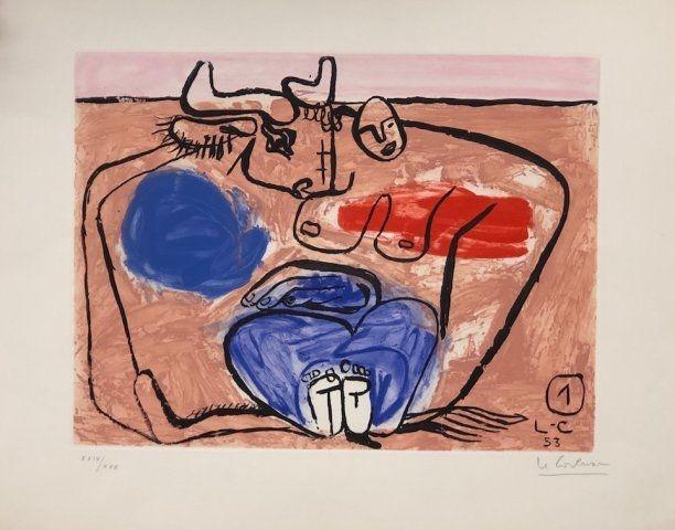 Acquaforte Le Corbusier - Unite