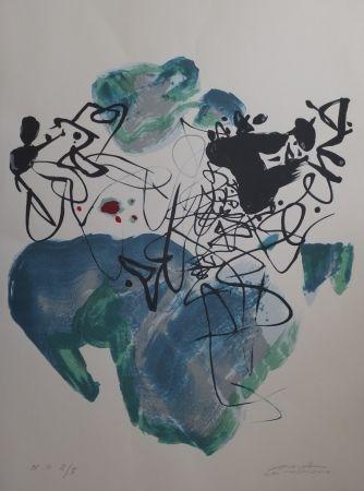 Litografia Chu Teh Chun  - Universal Peace