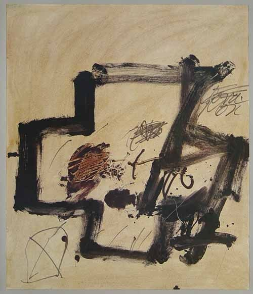 Offset Tàpies - Untitled