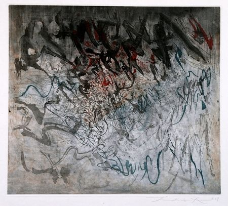 Acquaforte E Acquatinta Zao - Untitled