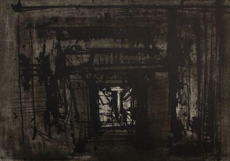 Litografia Scanavino - Untitled